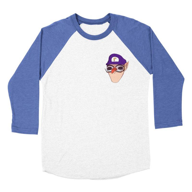 WAH! Pocket Sized Women's Baseball Triblend Longsleeve T-Shirt by ArtbyMoga Apparel Shop