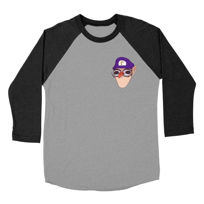WAH! Pocket Sized Men's Baseball Triblend Longsleeve T-Shirt by ArtbyMoga Apparel Shop
