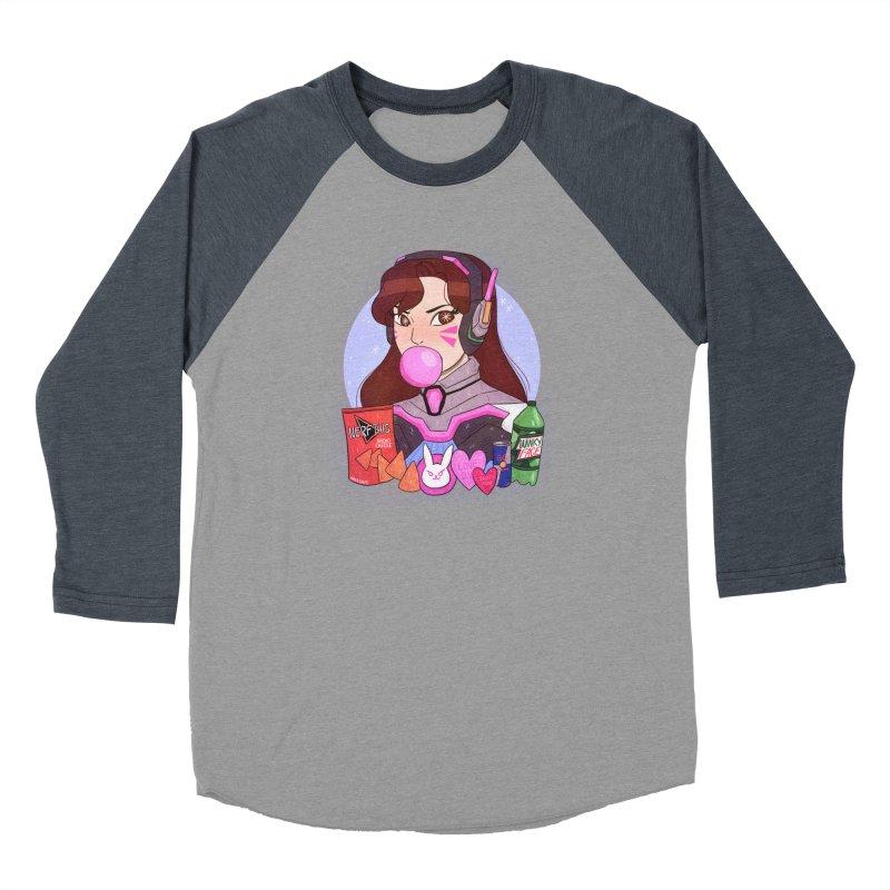 Nerf This! Men's Baseball Triblend Longsleeve T-Shirt by ArtbyMoga Apparel Shop