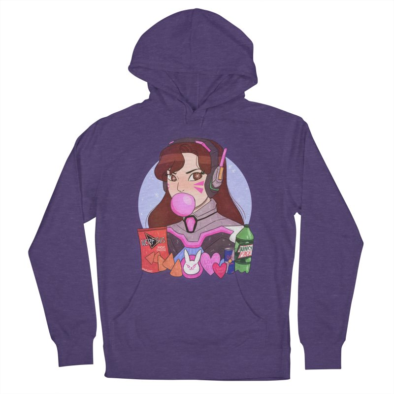 Nerf This! Women's French Terry Pullover Hoody by ArtbyMoga Apparel Shop