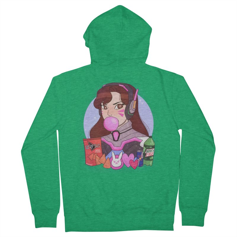Nerf This! Men's Zip-Up Hoody by ArtbyMoga Apparel Shop