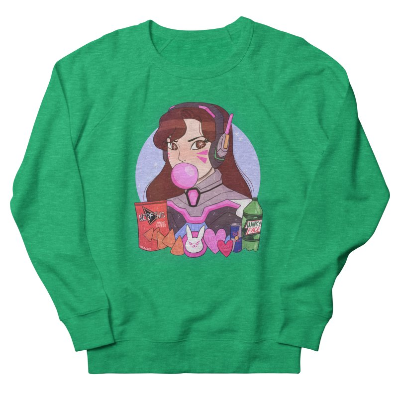 Nerf This! Women's French Terry Sweatshirt by ArtbyMoga Apparel Shop
