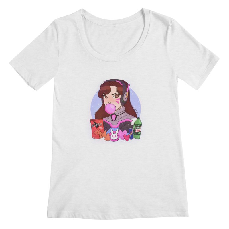 Nerf This! Women's Regular Scoop Neck by ArtbyMoga Apparel Shop