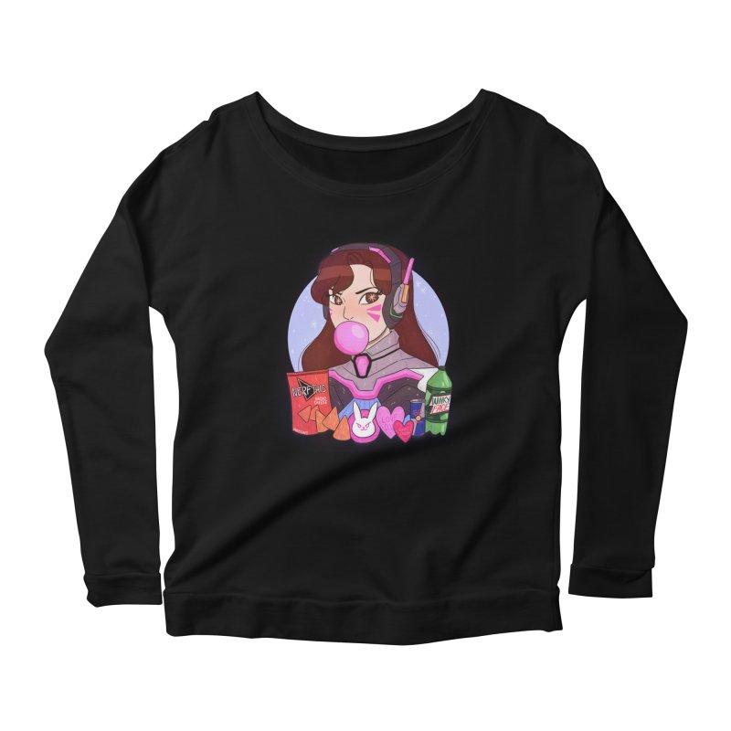 Nerf This! Women's Scoop Neck Longsleeve T-Shirt by ArtbyMoga Apparel Shop