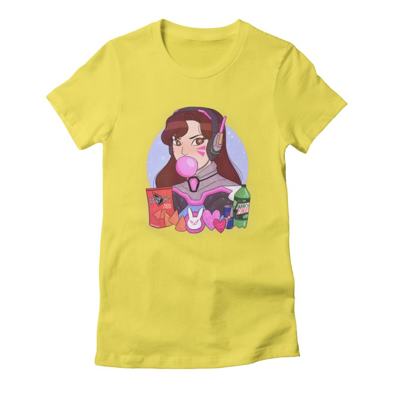 Nerf This! Women's Fitted T-Shirt by ArtbyMoga Apparel Shop
