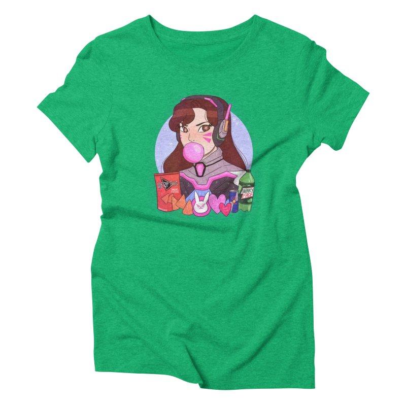 Nerf This! Women's Triblend T-Shirt by ArtbyMoga Apparel Shop