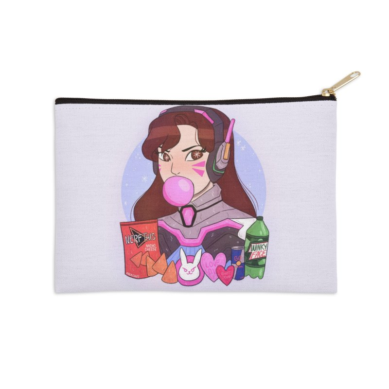 Nerf This! Accessories Zip Pouch by ArtbyMoga Apparel Shop