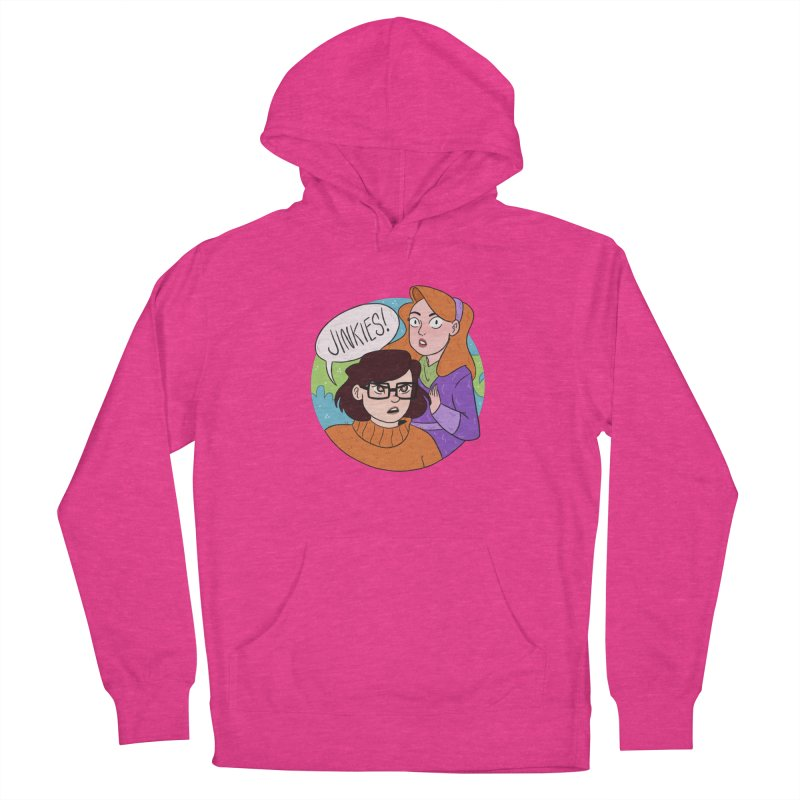 Jinkies! Women's Pullover Hoody by ArtbyMoga Apparel Shop