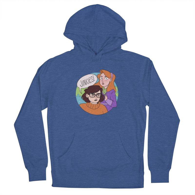 Jinkies! Women's Pullover Hoody by ArtbyMoga Apparel Shop