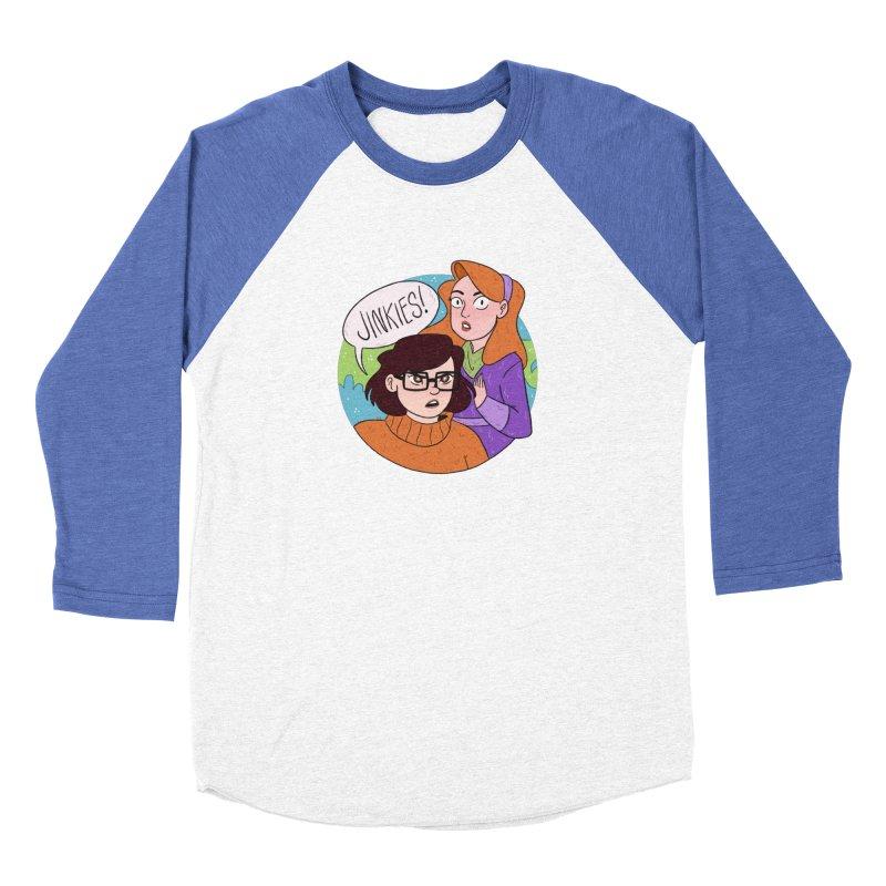 Jinkies! Women's Longsleeve T-Shirt by ArtbyMoga Apparel Shop