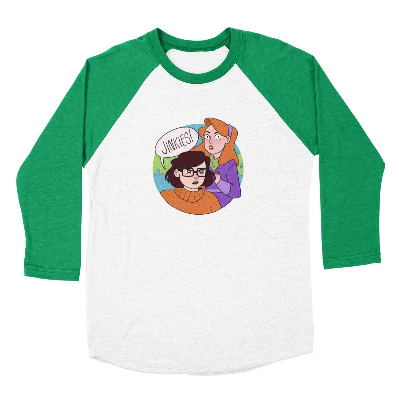 Jinkies! Women's Longsleeve T-Shirt by ArtbyMoga Apparel Shop