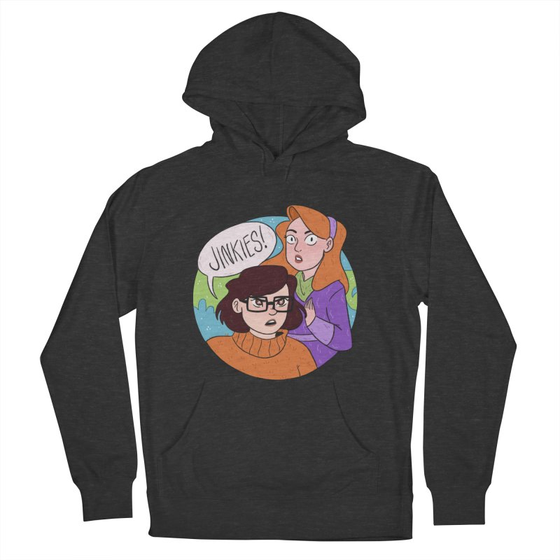 Jinkies! Men's French Terry Pullover Hoody by ArtbyMoga Apparel Shop