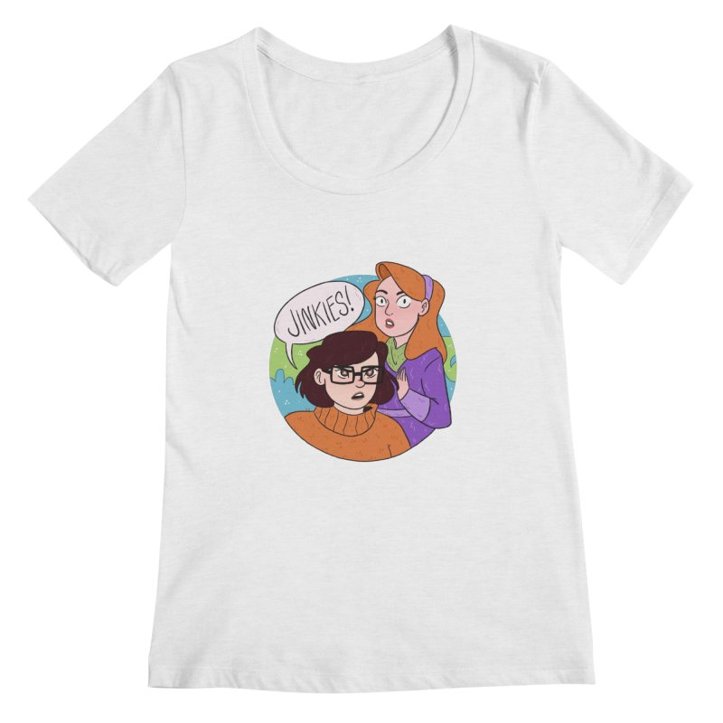 Jinkies! Women's Regular Scoop Neck by ArtbyMoga Apparel Shop