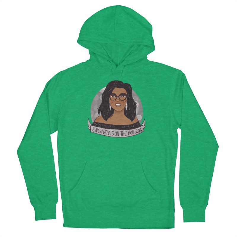Oprah - A New Day Men's French Terry Pullover Hoody by ArtbyMoga Apparel Shop