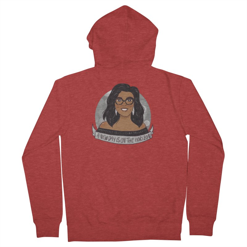 Oprah - A New Day Women's French Terry Zip-Up Hoody by ArtbyMoga Apparel Shop