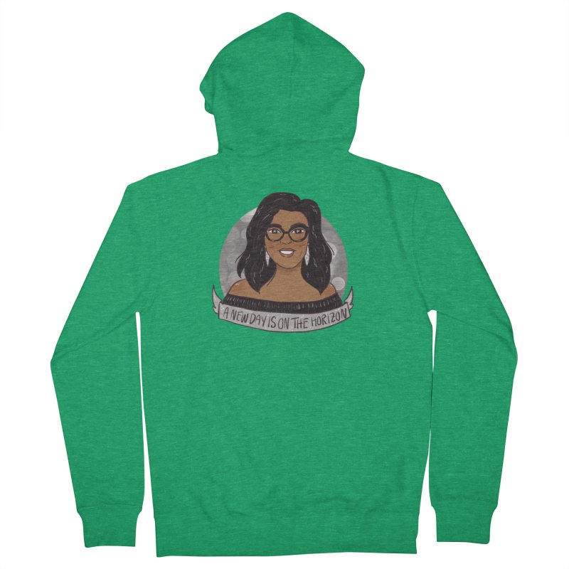 Oprah - A New Day Men's French Terry Zip-Up Hoody by ArtbyMoga Apparel Shop