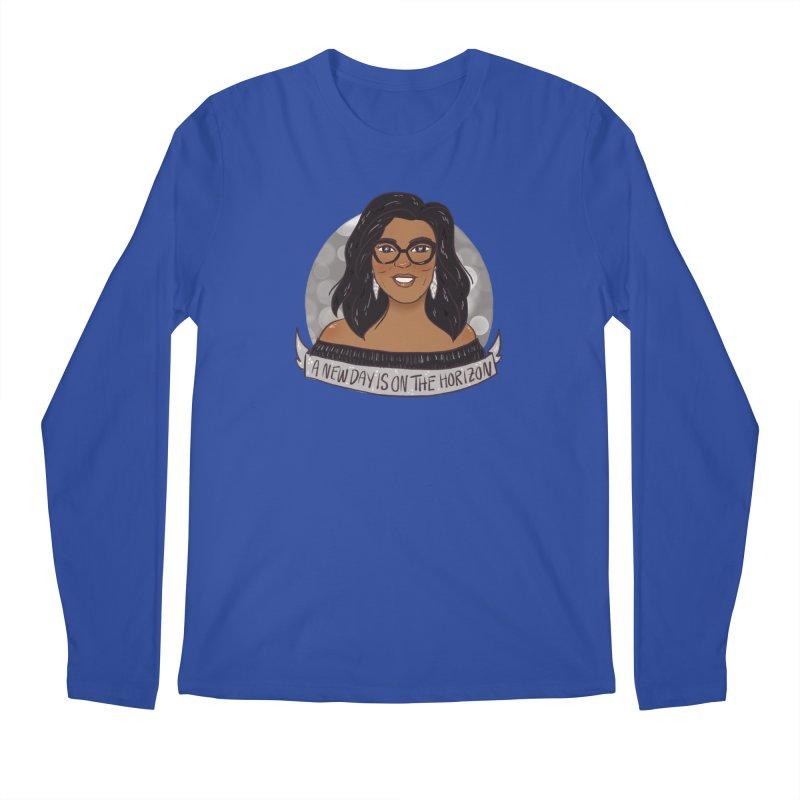 Oprah - A New Day Men's Regular Longsleeve T-Shirt by ArtbyMoga Apparel Shop