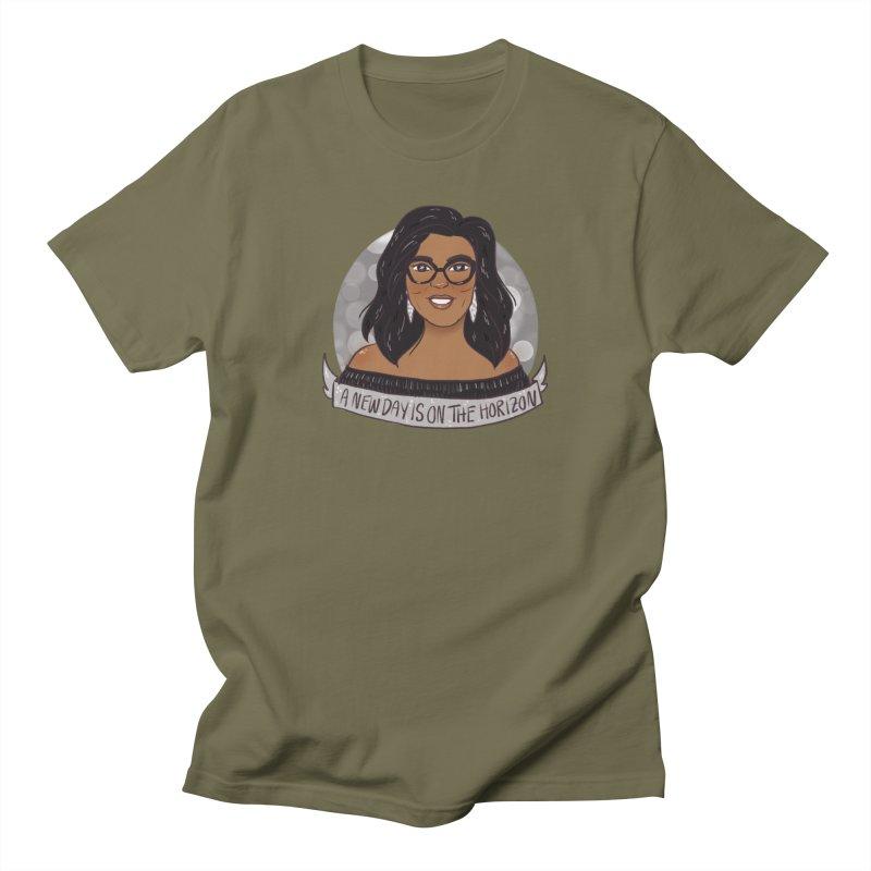Oprah - A New Day Men's Regular T-Shirt by ArtbyMoga Apparel Shop