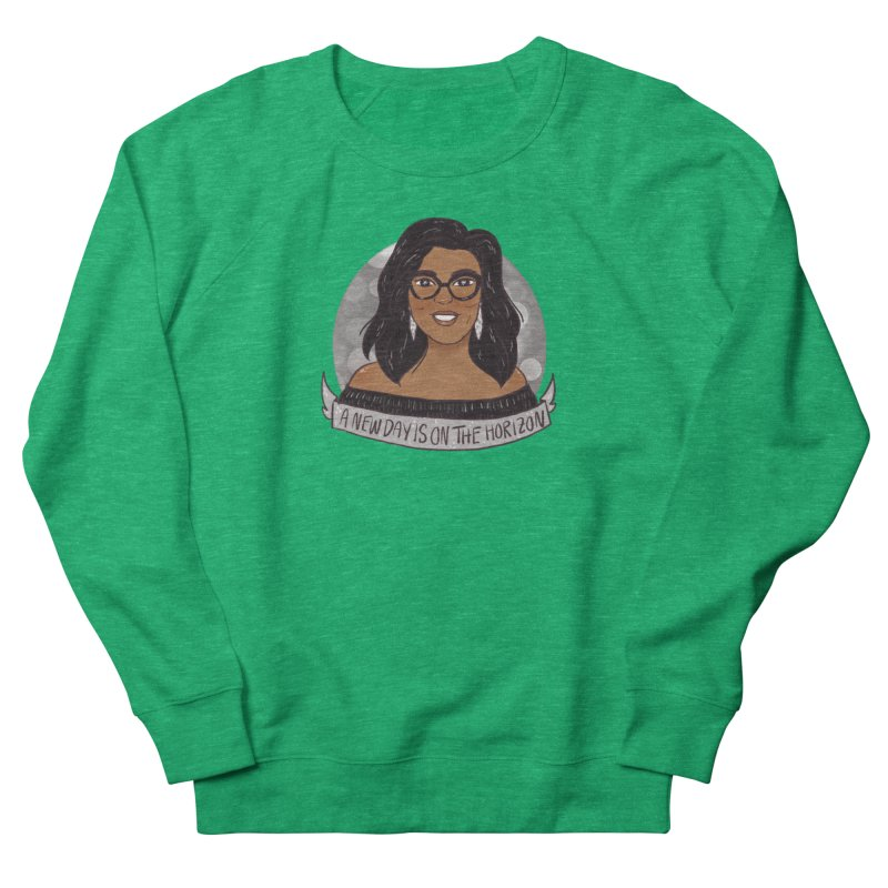 Oprah - A New Day Women's French Terry Sweatshirt by ArtbyMoga Apparel Shop