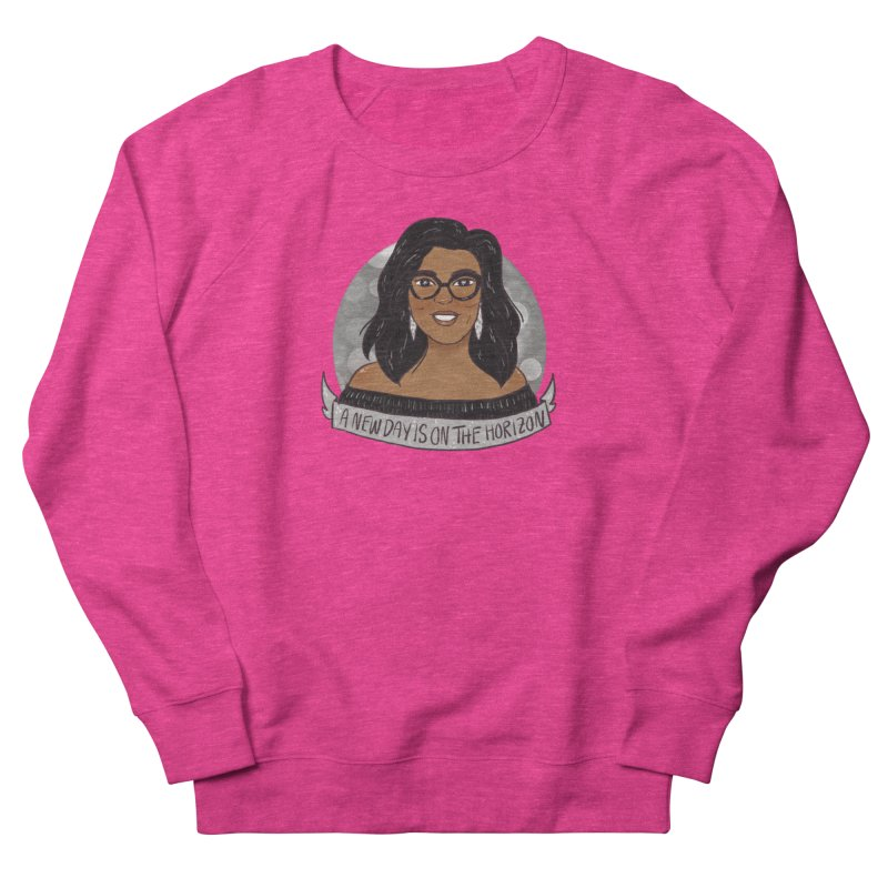 Oprah - A New Day Women's French Terry Sweatshirt by ArtbyMoga Apparel Shop
