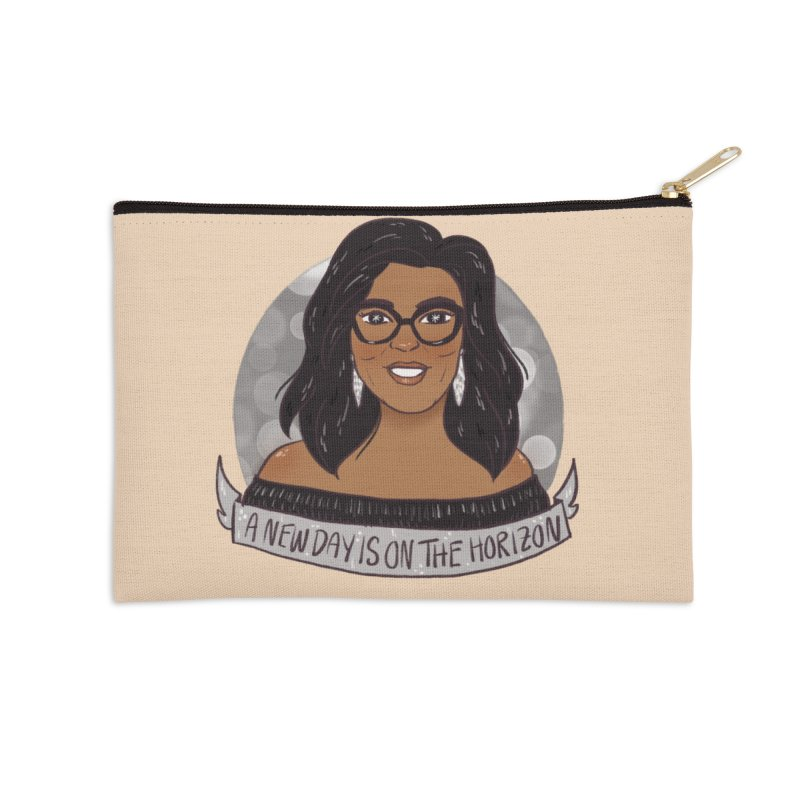 Oprah - A New Day Accessories Zip Pouch by ArtbyMoga Apparel Shop