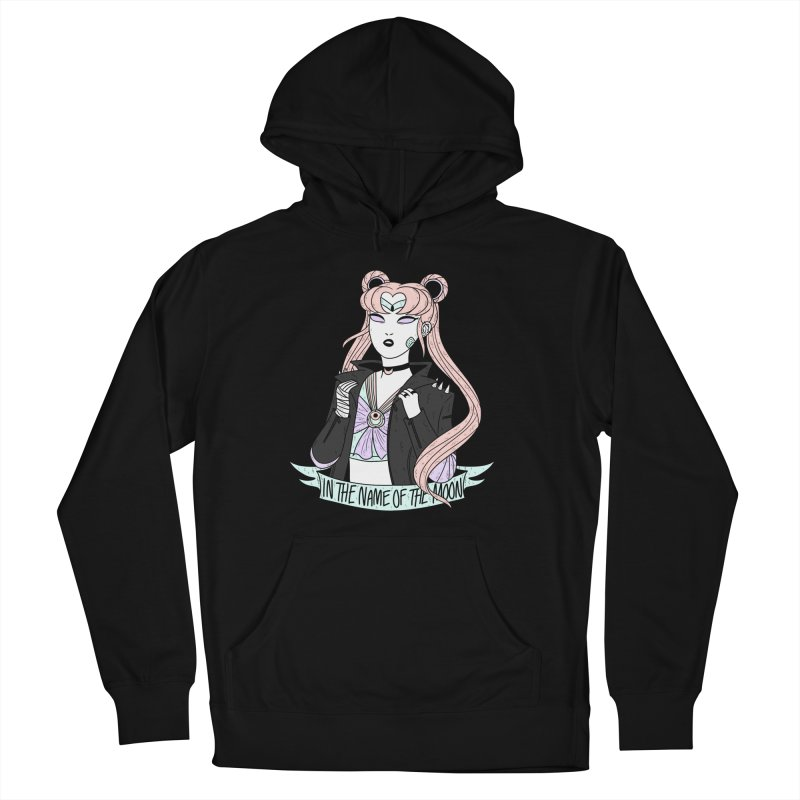 Pastel Goth Sailor Moon Men's French Terry Pullover Hoody by ArtbyMoga Apparel Shop