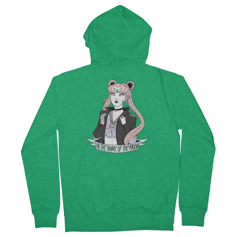 Pastel Goth Sailor Moon Women's Zip-Up Hoody by ArtbyMoga Apparel Shop