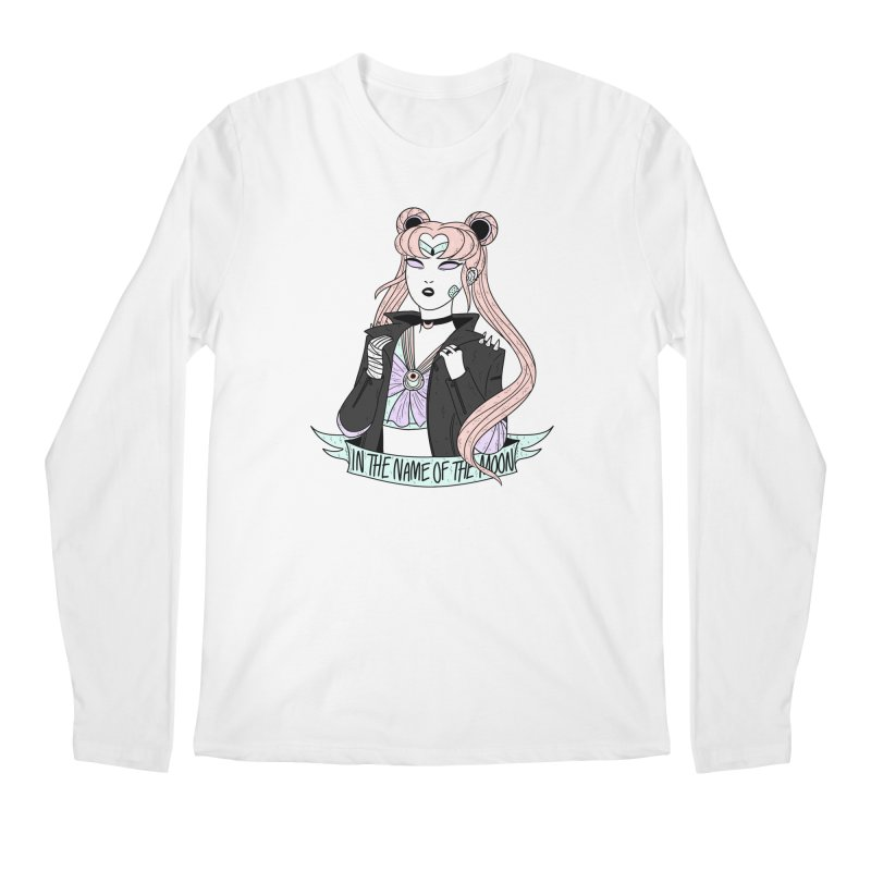 Pastel Goth Sailor Moon Men's Regular Longsleeve T-Shirt by ArtbyMoga Apparel Shop