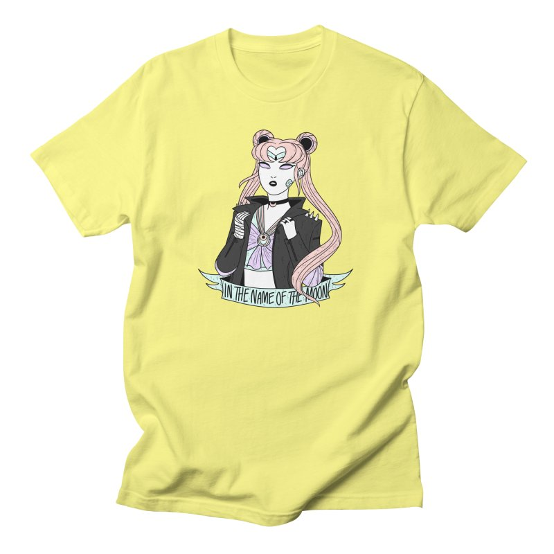 Pastel Goth Sailor Moon Women's Regular Unisex T-Shirt by ArtbyMoga Apparel Shop