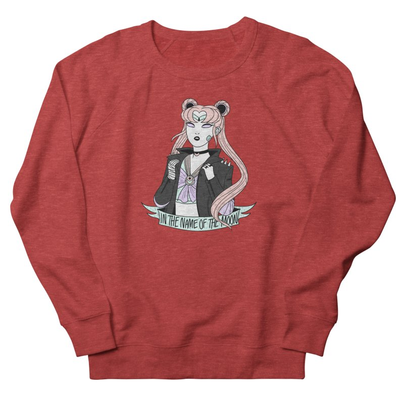 Pastel Goth Sailor Moon Women's French Terry Sweatshirt by ArtbyMoga Apparel Shop