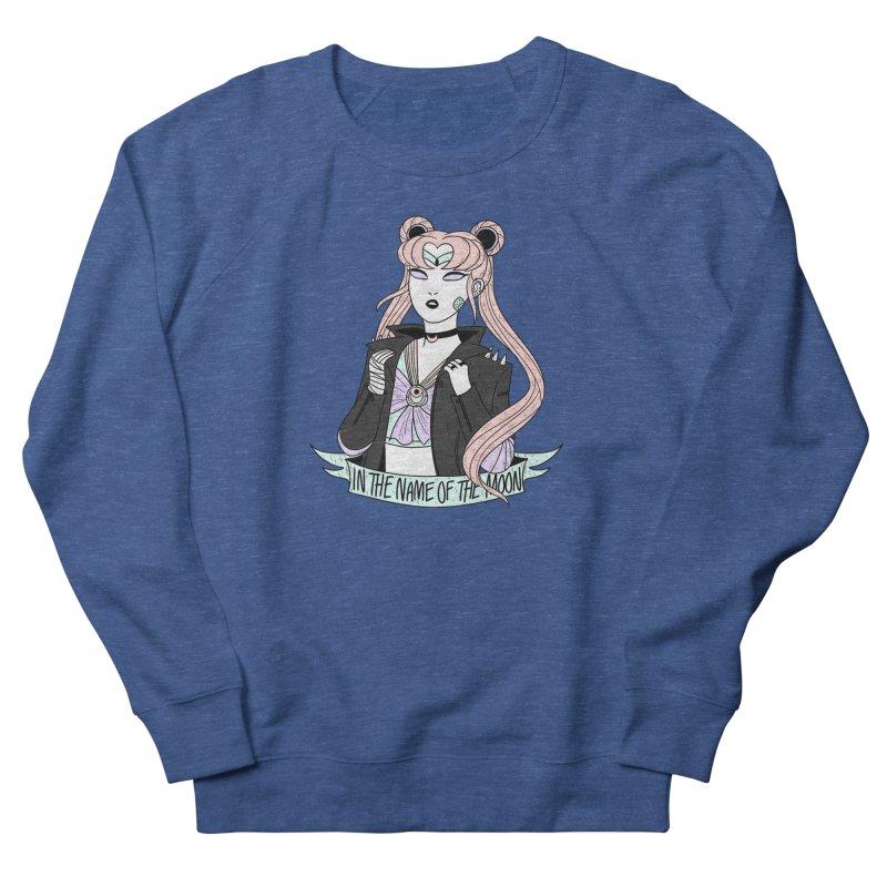 Pastel Goth Sailor Moon Men's French Terry Sweatshirt by ArtbyMoga Apparel Shop