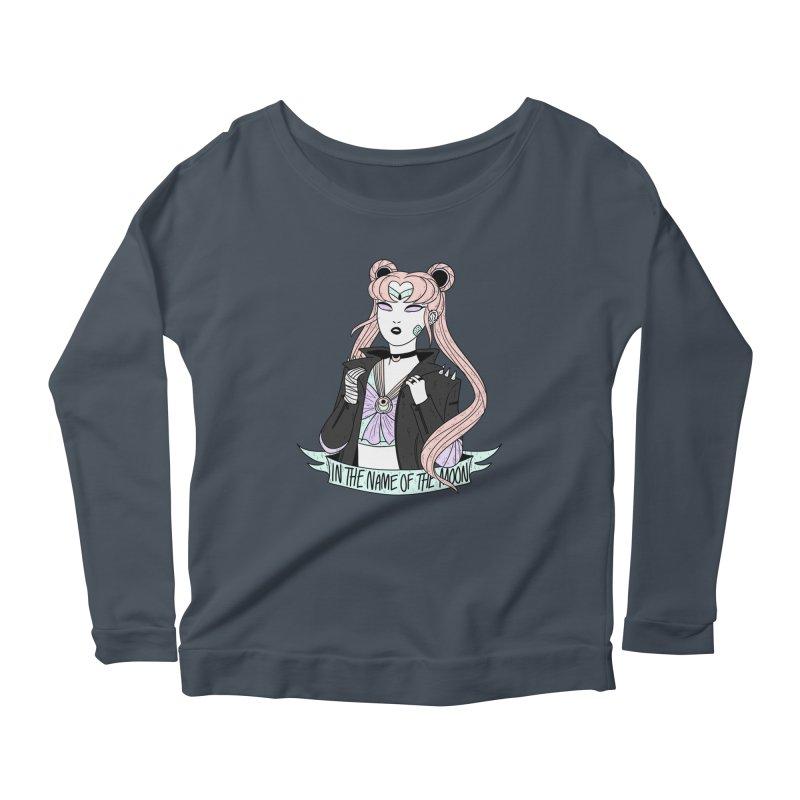 Pastel Goth Sailor Moon Women's Scoop Neck Longsleeve T-Shirt by ArtbyMoga Apparel Shop