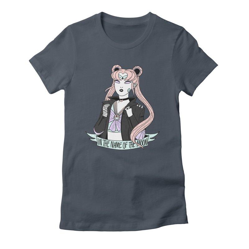 Pastel Goth Sailor Moon Women's T-Shirt by ArtbyMoga Apparel Shop