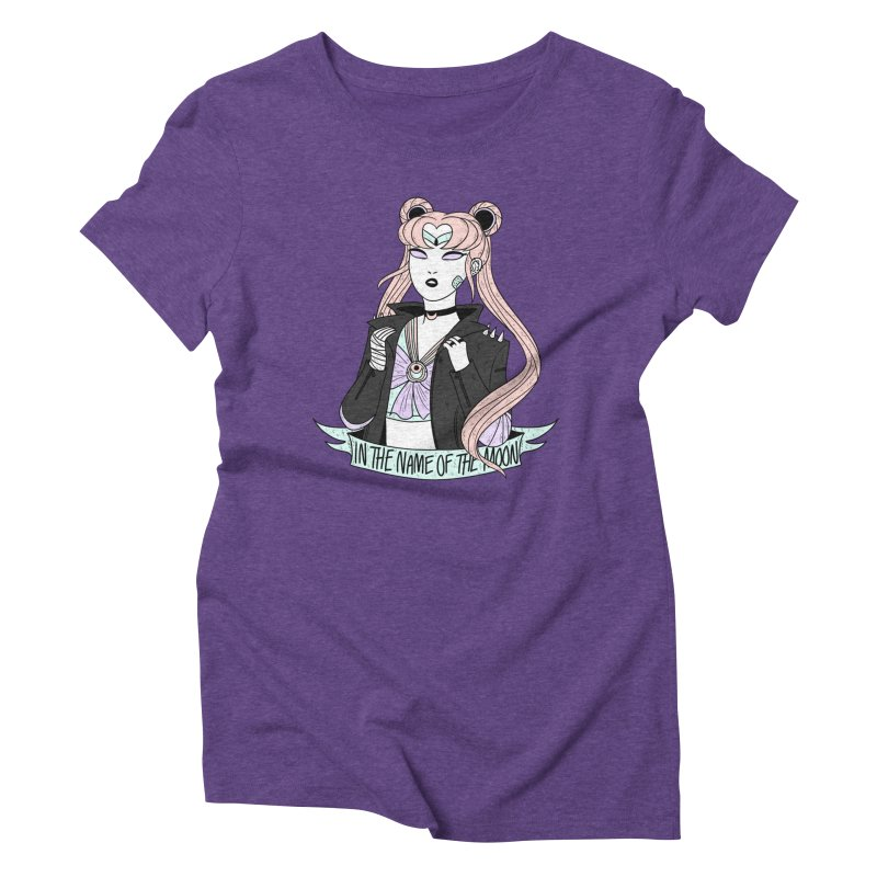 Pastel Goth Sailor Moon Women's Triblend T-Shirt by ArtbyMoga Apparel Shop