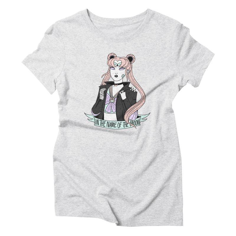 Pastel Goth Sailor Moon Women's Triblend T-Shirt by ArtbyMoga Apparel Shop