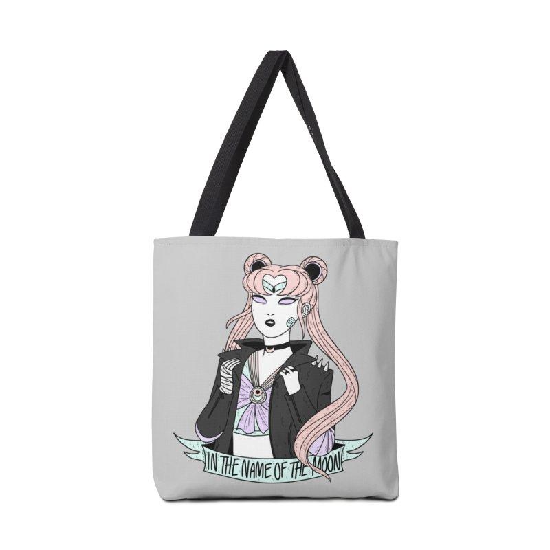 Pastel Goth Sailor Moon Accessories Bag by ArtbyMoga Apparel Shop