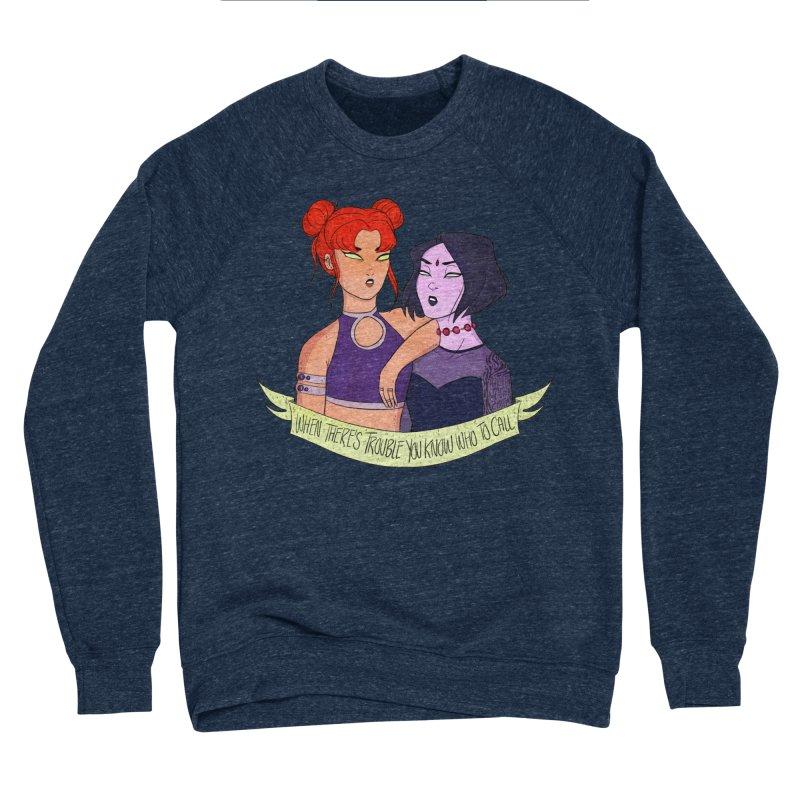 Teen Titans Men's Sponge Fleece Sweatshirt by ArtbyMoga Apparel Shop
