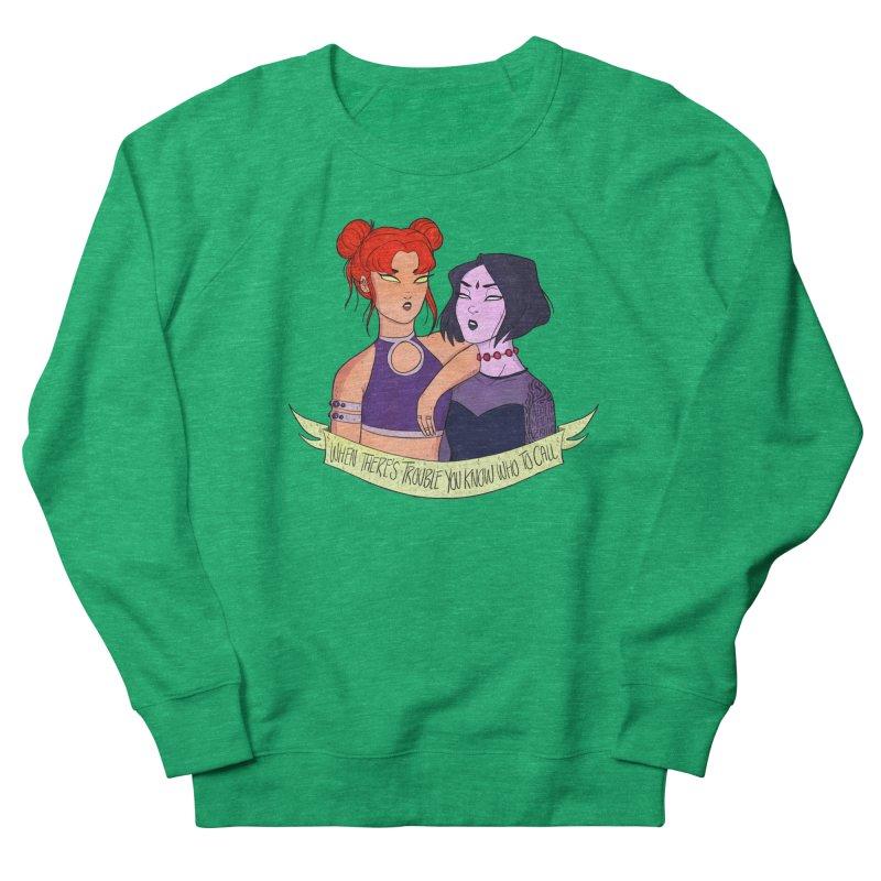 Teen Titans Women's Sweatshirt by ArtbyMoga Apparel Shop