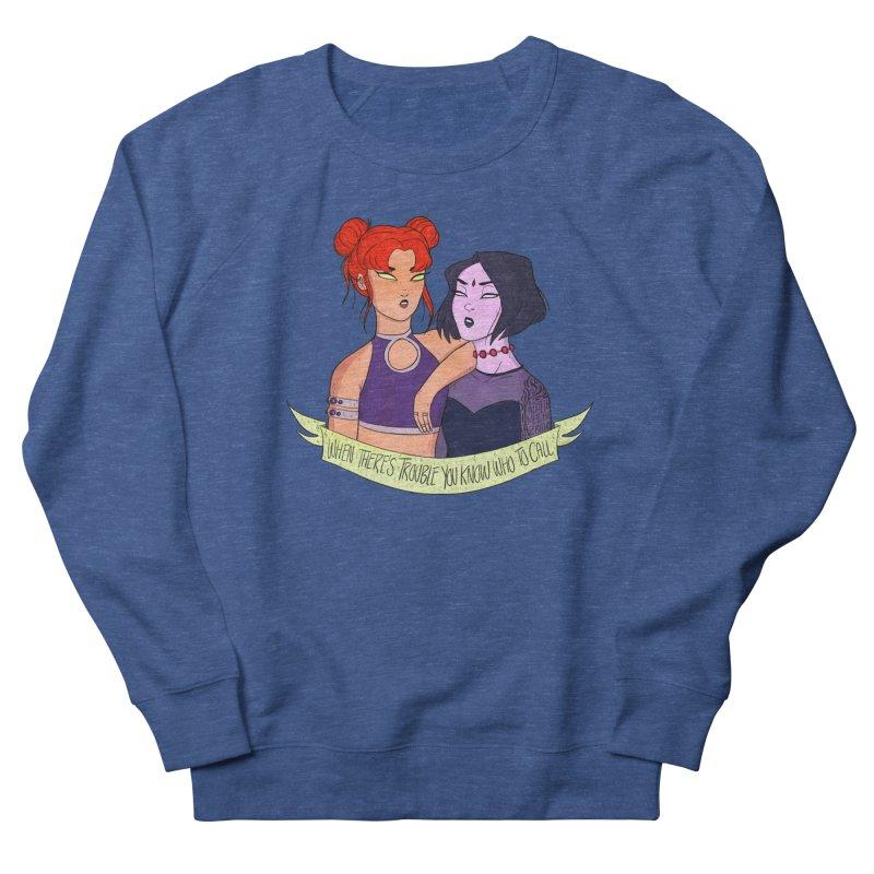 Teen Titans Men's Sweatshirt by ArtbyMoga Apparel Shop