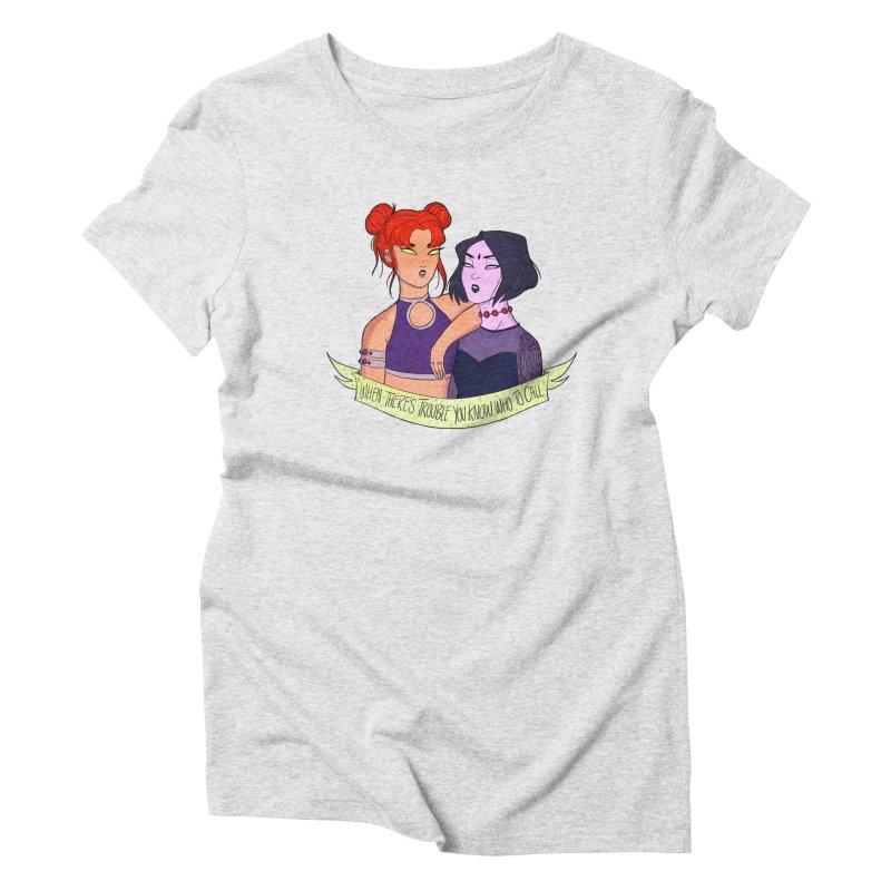Teen Titans Women's T-Shirt by ArtbyMoga Apparel Shop