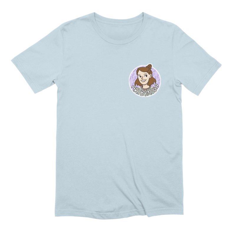 ArtbyMoga Logo Pocket Sized Men's Extra Soft T-Shirt by ArtbyMoga Apparel Shop