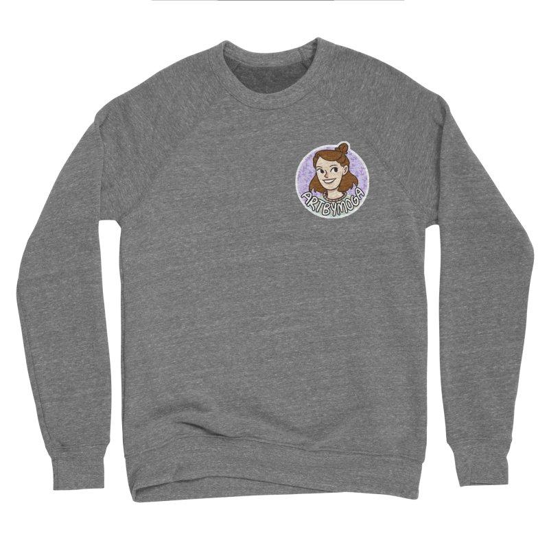 ArtbyMoga Logo Pocket Sized Men's Sponge Fleece Sweatshirt by ArtbyMoga Apparel Shop