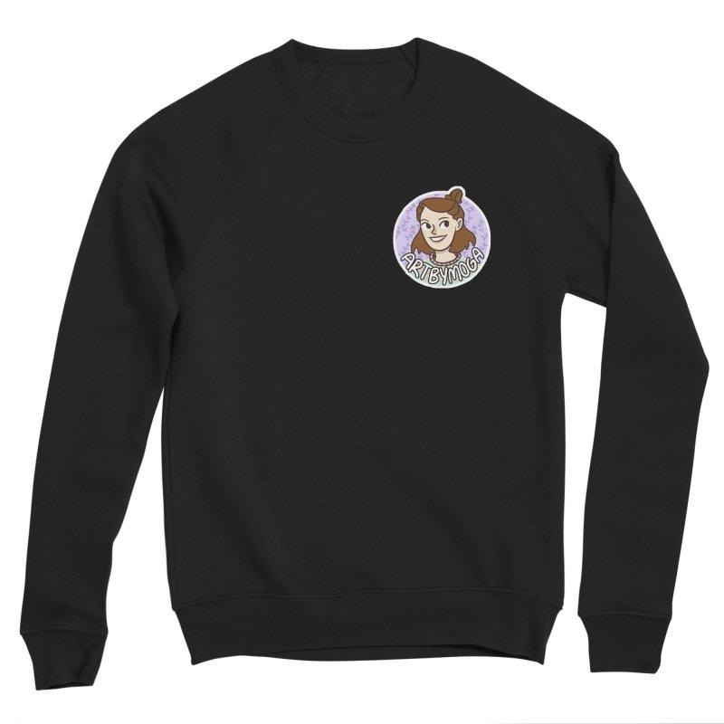 ArtbyMoga Logo Pocket Sized Women's Sponge Fleece Sweatshirt by ArtbyMoga Apparel Shop
