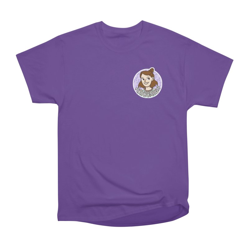 ArtbyMoga Logo Pocket Sized Men's Heavyweight T-Shirt by ArtbyMoga Apparel Shop