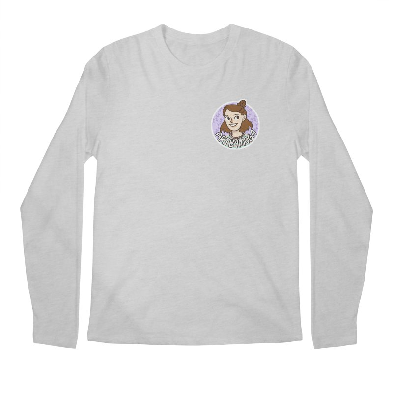 ArtbyMoga Logo Pocket Sized Men's Regular Longsleeve T-Shirt by ArtbyMoga Apparel Shop