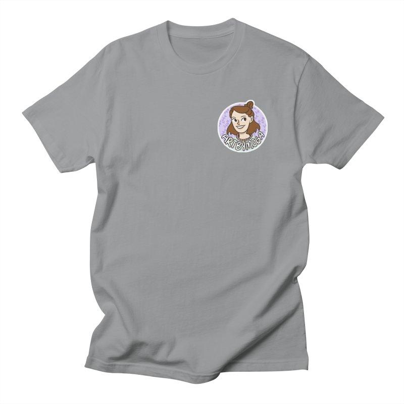 ArtbyMoga Logo Pocket Sized Men's Regular T-Shirt by ArtbyMoga Apparel Shop