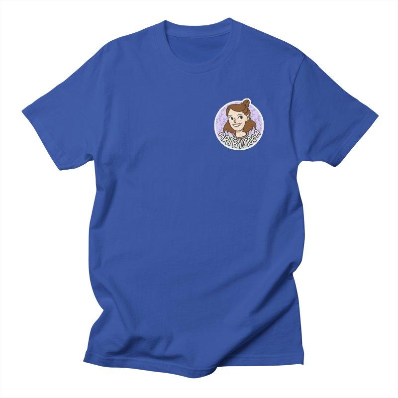ArtbyMoga Logo Pocket Sized Women's Regular Unisex T-Shirt by ArtbyMoga Apparel Shop