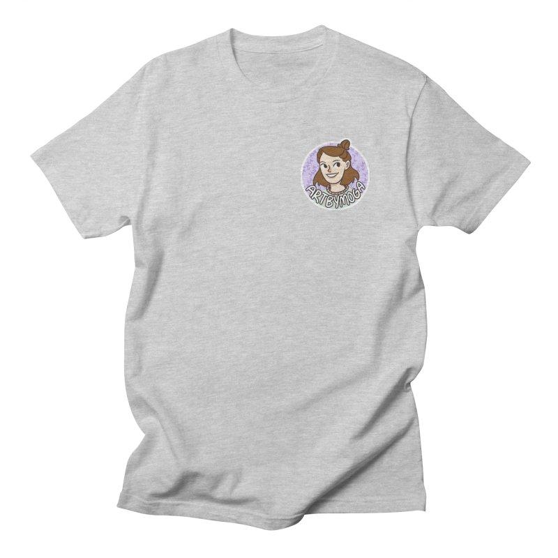 ArtbyMoga Logo Pocket Sized Men's T-Shirt by ArtbyMoga Apparel Shop