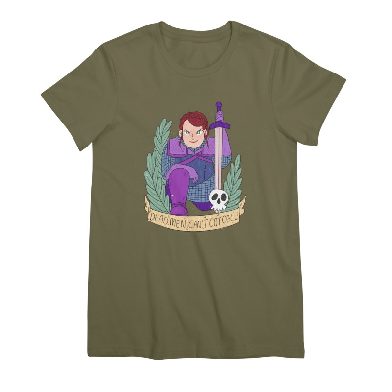 GRL PWR Knights Dead Men Women's Premium T-Shirt by ArtbyMoga Apparel Shop