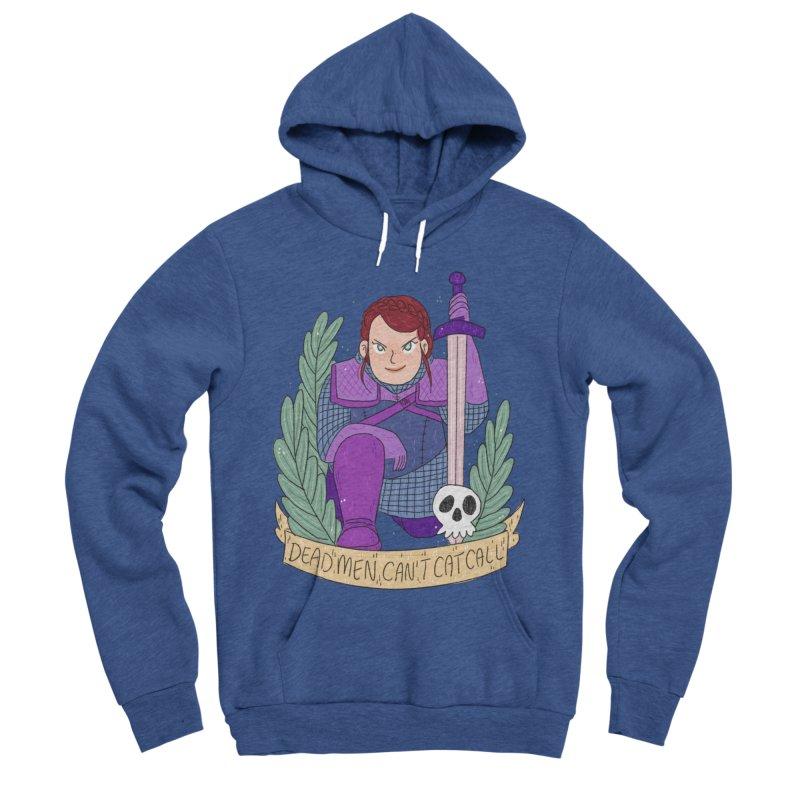 GRL PWR Knights Dead Men Women's Sponge Fleece Pullover Hoody by ArtbyMoga Apparel Shop